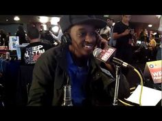 Kobi Backstage @ The Grammy's with K'Naan!