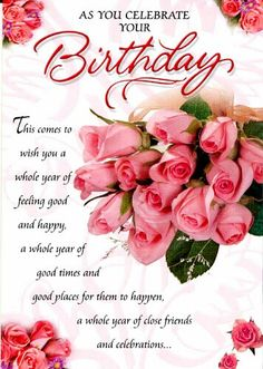 You Are A Beautiful Person Flower Happy Birthday Wishes Card Lovely Happy Birthday Wishes Quotes