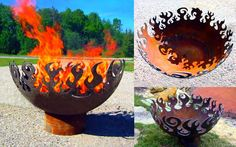 Great Bowl O' Fire & Recycled Steel | greenUPGRADER