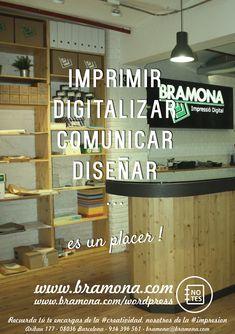 Bramona Impressio Digital. Algo mas que una copisteria en el centro de Barcelona