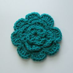 Free Crochet Pattern Headwrap : 1000+ images about crochet flowers on Pinterest ...