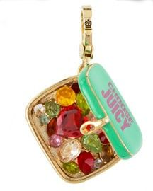 Juicy Couture mint tin charm.