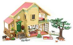 *fistuff* Sylvanian Families Decorated Woodland House + Scenery, Animals + Lots!