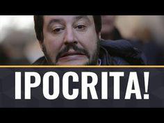 Matteo Salvini a bracetto con Laura Boldrini per la censura della rete