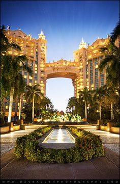 Spend the day at Nassau's Atlantis Resort. The Royal Towers are the iconic feature of this famous Aquaventure waterpark.