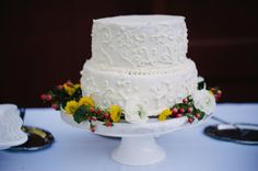 Backyard Wedding Cake