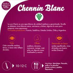 #ViernesDeUvas de #Chenin #Blanc. A esta uva también se le conoce con los nombres Pineau d'Anjou Pineau Vert, Pinot Blanco, Rousselin, Steen y Tite de Crabe.