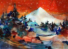 Chris Keylock Williams watercolor art