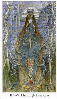 2- The High Priestess (the Paulina Tarot)