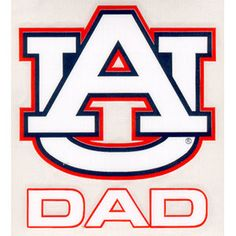Auburn University AU Reflective 3D Domed Decal