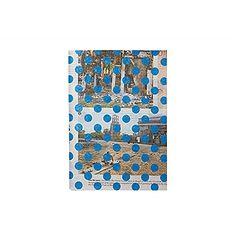Notebook Krant Dots , Blauw