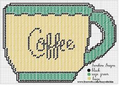 COFFEE CUP by SUNSHINE DESIGNS - WALL HANGING