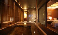 自然光で満たされる客室空間   ホテル・旅館のリノベーションは石井建築事務所/リフォーム・改修・改築・設備投資 Asian Architecture, Space Architecture, Japanese House, Japanese Style, Japan Onsen, Amalfi, My Dream Home, Knight, Sweet Home