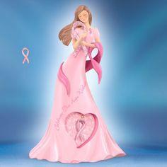 "Thomas Kinkade Lady Figurines | Details about Thomas Kinkade ""Celebrate the Hope Within"" BCA FS USA"