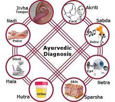 Ayurveda method of diagnosis