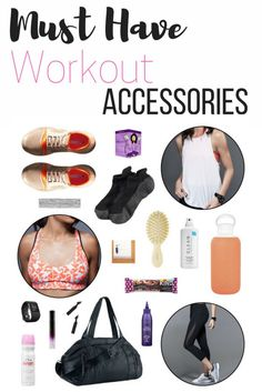 Must Have Workout Accessories for women, perfect for your exercise and getting set for a new fitter life in 2017. Whether you'll be running, exercising at home, at the gym, there is everything you need on this must have list.