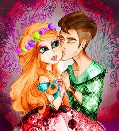 Nature Love - Ashlynn Ella and Hunter Huntsman by PrinceIvy-FreshP.deviantart.com on @DeviantArt