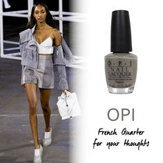 "OPI ""French Quarter for Your Thoughts"""
