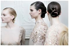 Haute Couture Spring Summer 2013 - Backstage