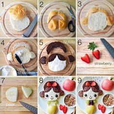 Playing With Food | Handmade Charlotte - So cute, but I will know that I will never ever actually do this.