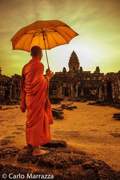 Cambodia by carlo marrazza Laos, Vietnam, Virtual Travel, Borobudur, Umbrellas Parasols, Buddhist Monk, Under My Umbrella, Phnom Penh, Angkor Wat