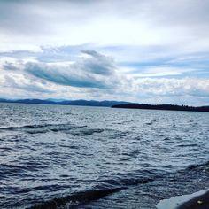 Dark and Stormy Lake Champlain