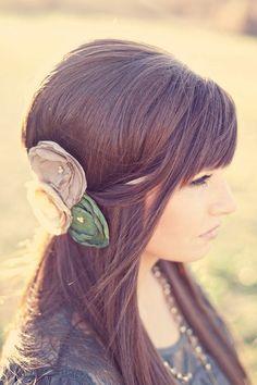 Vintage Bridesmaid Hair