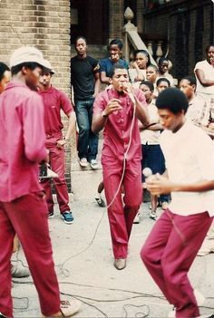 Old School Hip Hop block party