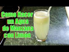 Agua de Manzana con Limón | Casayfamiliatv ** Casayfamiliatv.com