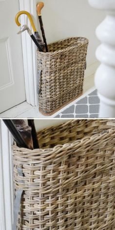 Buy Rattan Umbrella Stand — The Worm that Turned - revitalising your outdoor space - - by Trusted Customer 27 August 2019 Great product. Fitted my hallway perfectly. read about our trusted independent product rating system. Outdoor Umbrella Stand, Large Umbrella, Umbrella Cover, Umbrella Stands, Entrance Hall Decor, Hallway Ideas Entrance Narrow, Narrow Hallways, Modern Hallway, Door Entryway