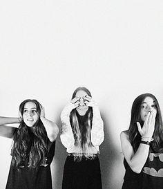 Alana, Danielle + Este - HAIM