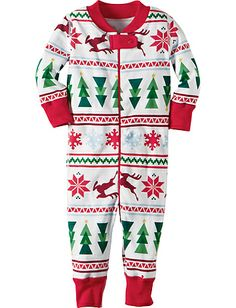 1a896b352b Night Night Baby Sleepers In Pure Organic Cotton from Hanna Andersson. Baby  Christmas PajamasBaby ...