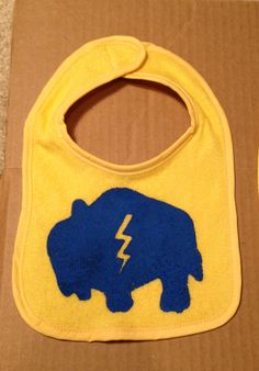 Rumble baby bib. Thunder. OKC. Oklahoma City Thunder. - $7