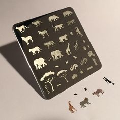 Clear Jelly Stamper - Stamping Plate - CJS_15 - Out of Africa