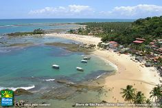 Brasil-Bahia by Bivon on DeviantArt Beautiful Places In The World, Wonderful Places, Amazing Places, Ocean Sounds, South America Travel, Aerial View, Places To See, Tourism, Around The Worlds