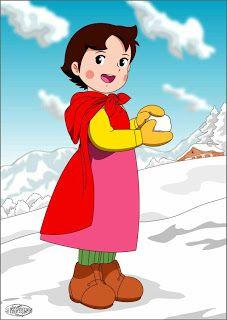 Heidi Und Peter, Heidi Cartoon, Disney Duck, Innocent Child, 80 Cartoons, Diy Crystals, Old Tv, Aesthetic Backgrounds, Betty Boop