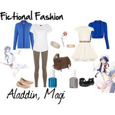 """Aladdin, Magi"" by fictional-fashion on Polyvore"