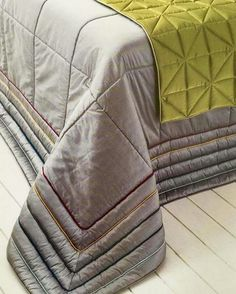 Bed Cover Design, Bed Design, Bedclothes, Home Curtains, Curtain Designs, Cushion Fabric, Quilt Sets, Quilt Cover, Modern Interior Design