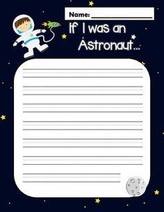 astronaut essay template - photo #40