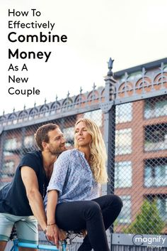"The divorce rate in America continues to stay around 50 percent with couples frequently point to money as a contributing factor in their split. Don't wait until you say, ""I do"" to have the tough talks about finances. Instead, you can start off on the right foot (or get back on track) with your finances and remove money as a cause of stress in your relationship. http://www.magnifymoney.com/blog/life-events/combine-money-new-couple364656583"