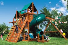 90A King Kong Clubhouse Pkg II with Spiral Slide