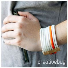 DIY Paracord Bracelet Tutorial by Creativebug