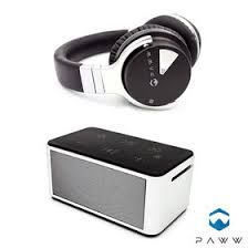 Paww Over Ear Headphones - Paww WaveSound 2 - Active Noise Cancelling Bluetooth Headphones with Custom Carry Case - Black Music Headphones, Bluetooth Headphones, Over Ear Headphones, Noise Cancelling, Special Gifts, Travelling, Stylish, Movies, Beautiful