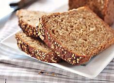 7 Engaging Tricks: Reduce Cholesterol Home Remedies high cholesterol articles.Reduce Cholesterol Home Remedies cholesterol lowering foods healthy snacks. Gluten Free Sandwich Bread Recipe, Bread Recipes, Bread Brands, Butter Brands, Eating For Weightloss, Cholesterol Lowering Foods, Cholesterol Symptoms, Cholesterol Levels, Whole Grain Bread