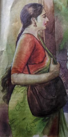 Ravivarma Paintings, Indian Art Paintings, Sexy Painting, Woman Painting, Cartoon Girl Drawing, Girl Cartoon, Indian Women Painting, Magazine Illustration, Erotic Art