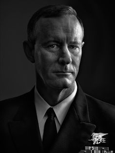 """William McRaven, four-star Admiral; Commander, U.S. Special Operations Command. From """"Beyond 9/11: Portraits of Resilience,"""" Sept. 19, 2011, issue."""