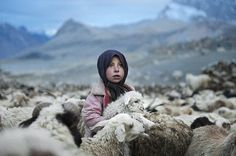Girl in Shimshal Pass, Pamir, Pakistan. Photo by Stelian Pavalache.