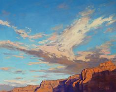 Canyon sky by Graham Gercken