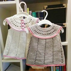 Sized for newborn up to approximately 3 months, you can of course use a heavier/lighter weight yarn for larger or preemie sizes.