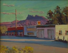 Zion National Park Springdale southern Utah  Happy Hour at the 101  by Artist Kathleen Strukoff